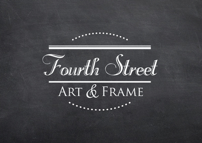 buisness card logo on chalkboard background