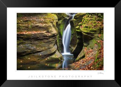 Corkscrew Falls Framed