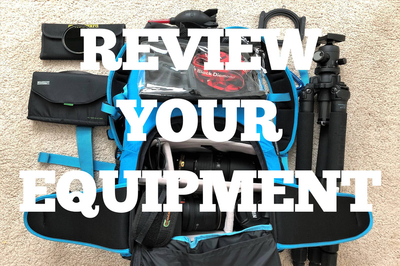 Review your equipment