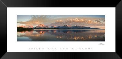Teton Reflections Framed