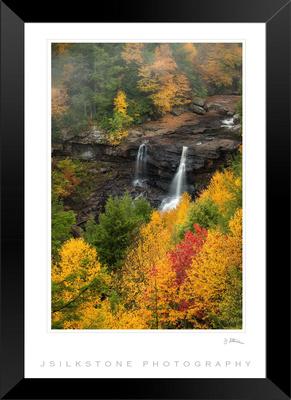 Blackwater Falls Framed